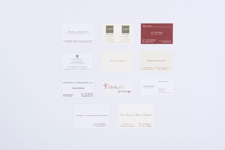 Cartes De Visite Format Standard 55x85 Cm Max 65x95